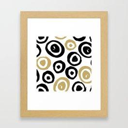 Geometric Pattern 7 Framed Art Print