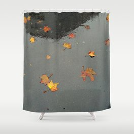 Reflect the Fall Shower Curtain