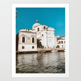 Views from the Canal Grande Art Print