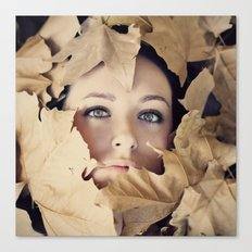 Welcome autumn Canvas Print