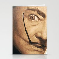 dali Stationery Cards featuring Dali by Fantastikat