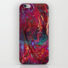Marbled Galaxy iPhone Skin