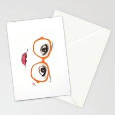 Hipster Eyes 2 Stationery Cards
