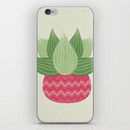 Watercolor Cactus Painting iPhone Skin