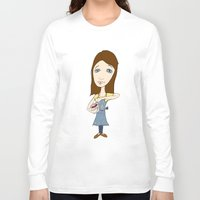 cook Long Sleeve T-shirts featuring The Cook by Peasley