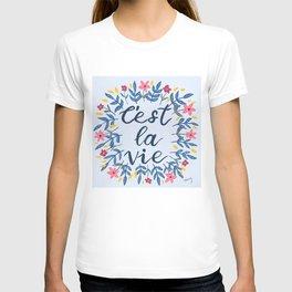 C'est La Vie Lavender  T-shirt