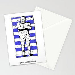 Picasso on the beach Stationery Cards