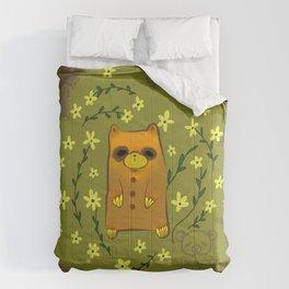 Little brown bear Comforters