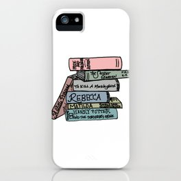 Favorite Books - In Color iPhone Case