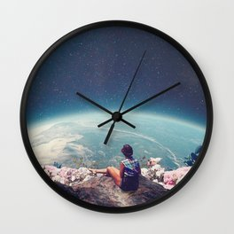 My World Blossomed when I Loved You Wall Clock