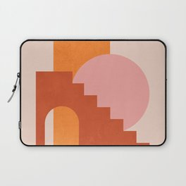 Abstraction_SHAPES_COLOR_Minimalism_003 Laptop Sleeve