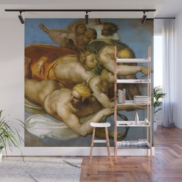 """Michelangelo """"The Last Judgment""""(detail) Wall Mural"""