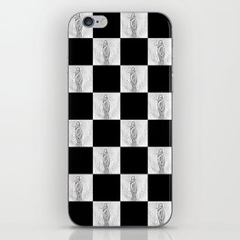 Checkerboard Pussy iPhone Skin