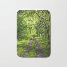 Trail Through Green Woods Bath Mat
