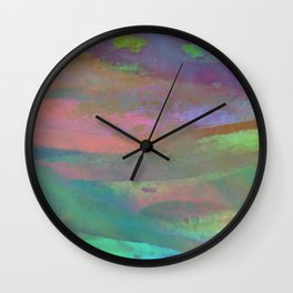 Inside the Rainbow 10 / Unexpected colors Wall Clock