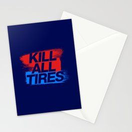 Kill All Tires v3 HQvector Stationery Cards