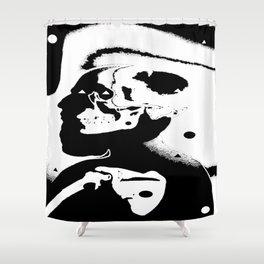 The Masks We Wear Shower Curtain