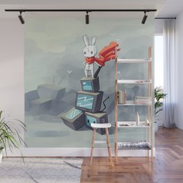 King Of The Hill Wall Mural