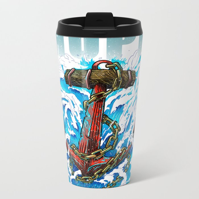 Hope is my Anchor Metal Travel Mug