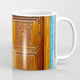Door of Iranian Mosque in Bur Dubai Coffee Mug