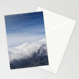 Clouds on Table Mountain Stationery Cards