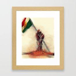 kurdistan Framed Art Print