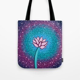 You Can and You Will - Lotus Tote Bag