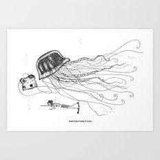 Jason and Jennica Art Print