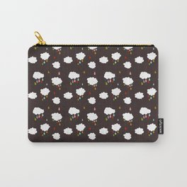 Rainclouds Black Carry-All Pouch