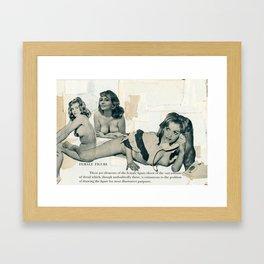 Female Figure Framed Art Print