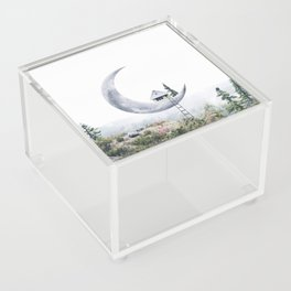 Moon House Acrylic Box