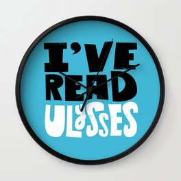 Ulysses Bragging Rights Wall Clock