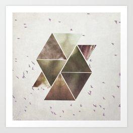 The Birds Overhead Art Print