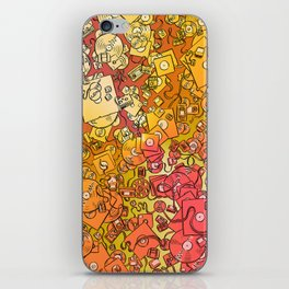 Technology Psychedelic Warm iPhone Skin