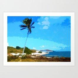 Bahia Honda Overlook Art Print