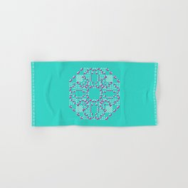 "CA Fantasy ""For Tiffany color"" series #2 Hand & Bath Towel"