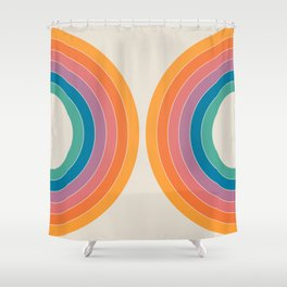 Boca Sonar Shower Curtain