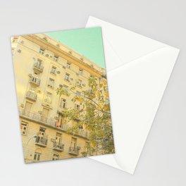 Avenida Córdoba  1000 - 9000 (Retro and Vintage Urban, architecture photography) Stationery Cards