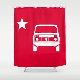 Lada Niva Shower Curtain