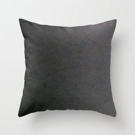 Black to gray underground urban camouflage Throw Pillow