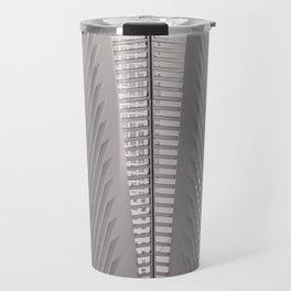 New York City,  Oculus, architecture photo, fine art photography, Manhattan, Calatrava, World trade Travel Mug