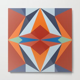 abstract geometric design for your creativity Metal Print
