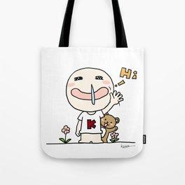 K Young-HI Tote Bag