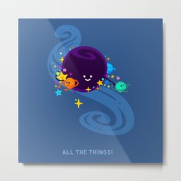 All the Things! Metal Print
