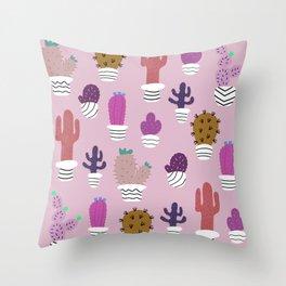 Sedona arizona desert blooms Throw Pillow