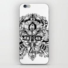 Mask Face iPhone & iPod Skin