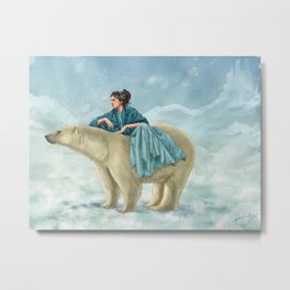 Arctic Queen Metal Print