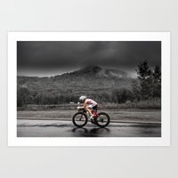 Amber Ferreira, 2014 Ironman 70.3 World Championships Art Print