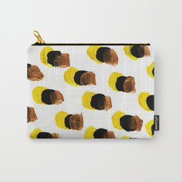 Abstract Yellow Blots pattern Carry-All Pouch