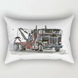 Tow-truck Rectangular Pillow